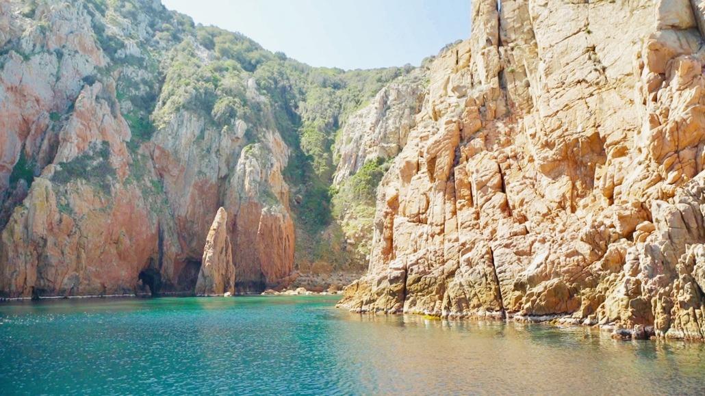 Promenade en mer Capo Rosso Piscine