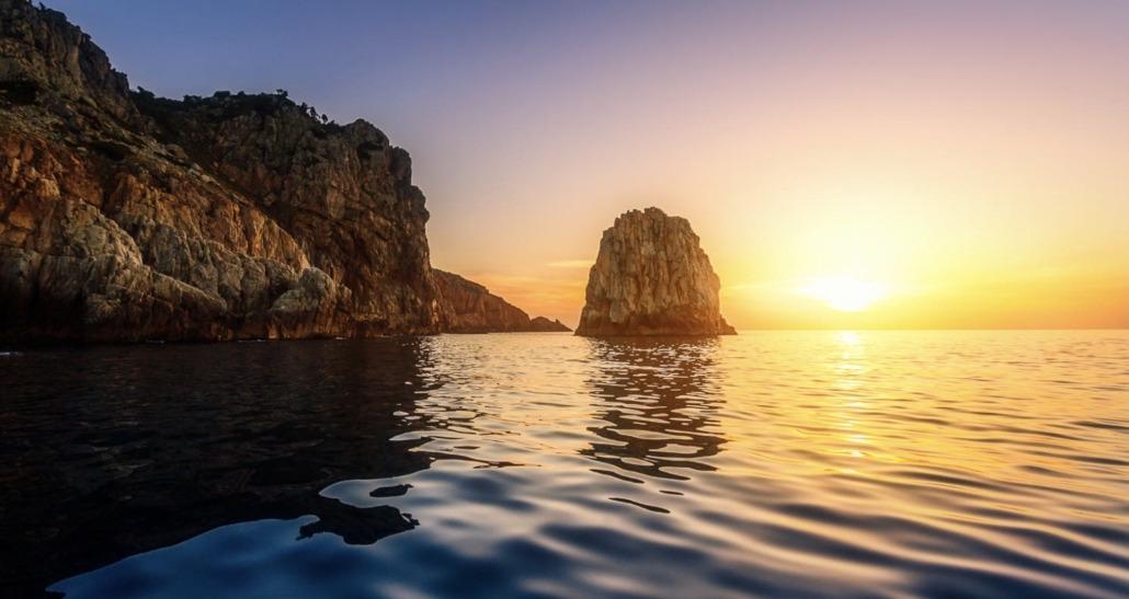 Capo Rosso promenade en mer