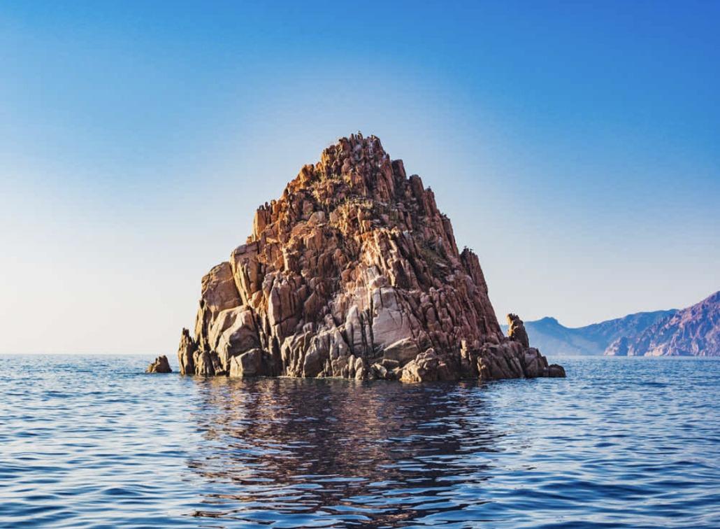 Calanques de Piana promenade en mer