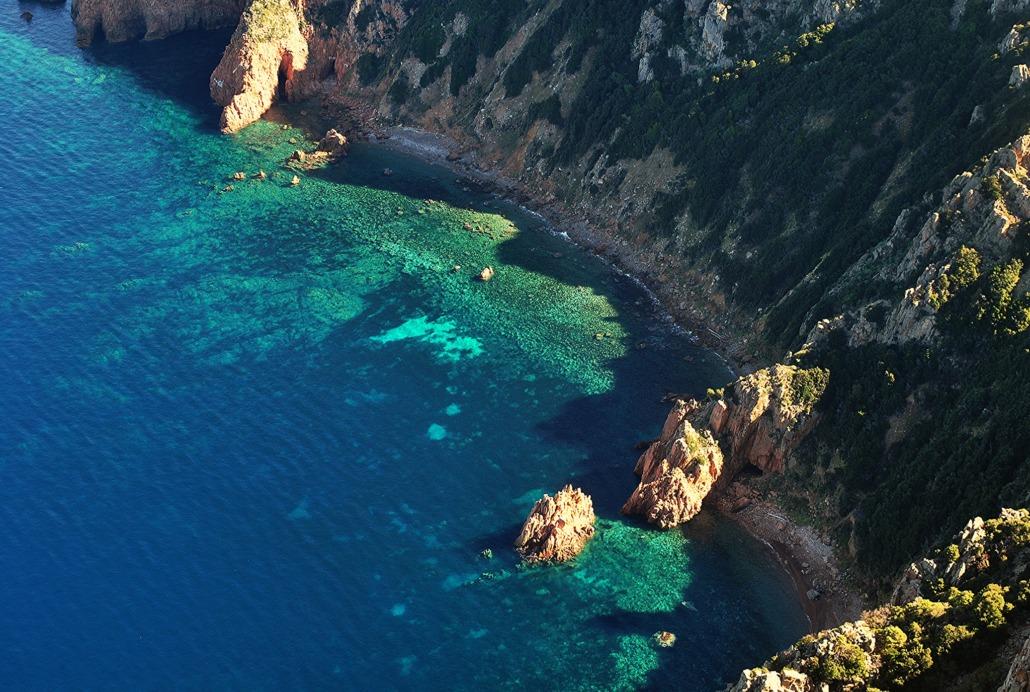 Promenade en mer Capo Rosso