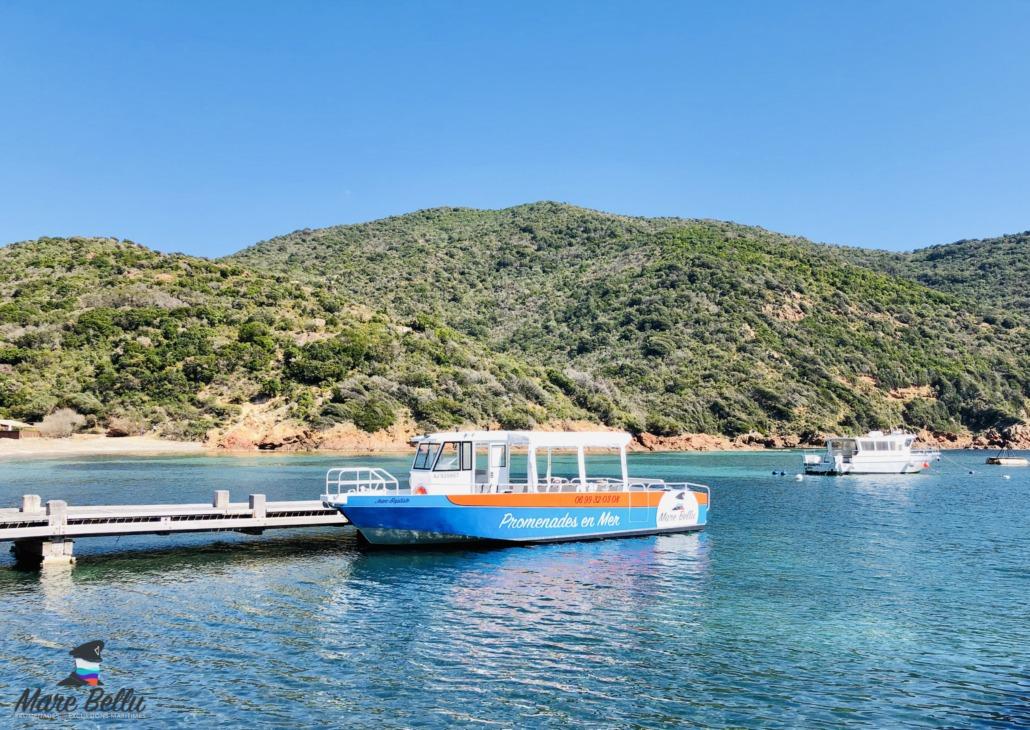 Promenade en mer Girolata